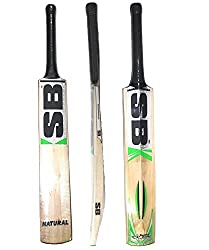 SB Natural Himchal willow cricket bat Size -6