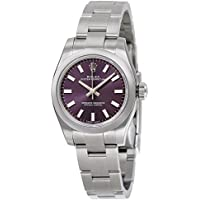 Rolex Lady Oyster Perpetual 26 Purple Dial Stainless Steel Oyster Automatic Ladies Watch