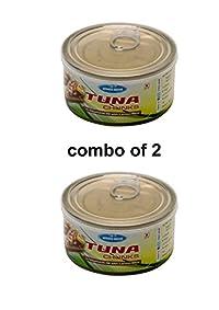 oceans secret tuna in vegetable oil with lemon slice combo of 2(180g each)