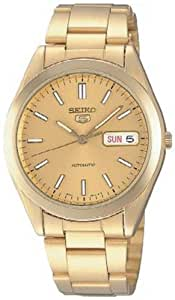 Seiko Men's SNX998K Gold Stainless-Steel Automatic Watch
