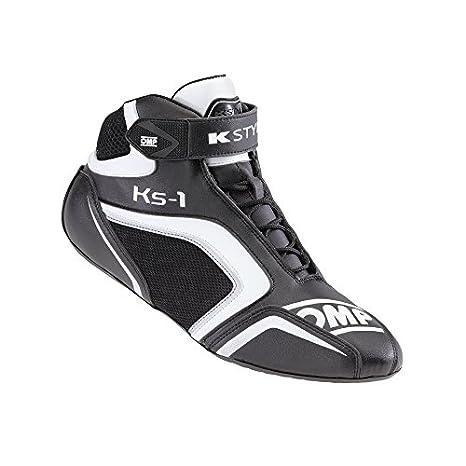 Omp - Chaussures Omp Ks-1 Noir/Blanc 38