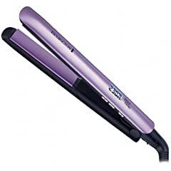 Remington S-9951 Frizz Therapy Humidity Resistant Ceramic Flat Hairstyling Iron 1 Inch