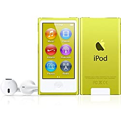 Apple iPod nano 16GB, 7th Generation - Yellow (Get Free SPEAKER only if purchased from 2solanki9094371024)