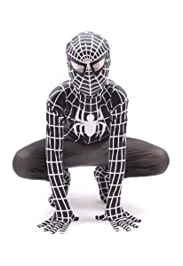 Ultimate Edition - Super Hero Kids Black Spider Fancy Dress Costume (4-6 years)