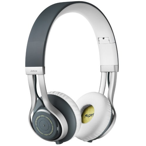Jabra Revo Wireless Bluetooth Stereo Headphones - Retail Packaging - Grey