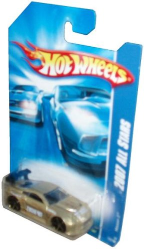 Mattel Hot Wheels 2007 All Stars Series 1:64 Scale Die Cast Metal Car # 152 of 180 - Gold Sport Coupe Nissan Z with Black Spoiler and Fun Facts # 152 (Nissan Z Toy Car compare prices)