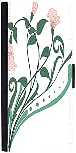 Snoogg Creative Vintage Flourishdesigner Protective Flip Case Cover For Samsu...