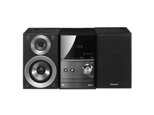 SC-PM500EG-K Kompaktanlage (iPod-/iPhone-Dock, 2x 20 Watt (RMS), USB Eingang, Radio mit RDS) schwarz