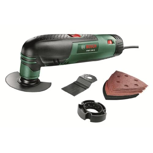 Bosch PMF 190 E Multifunctional Allrounder: Oscillating Multi-Tool with Cutting Discs, Saw Blades and Sander Sheets