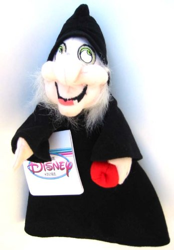 Snow White and the Seven Dwarfs Evil Witch Bean Bag Plush by Disney - 1