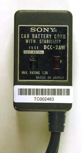 Sony Dcc-2Aw Car Battery Cord With Stabilizer