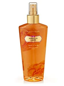 Victoria Secret By Victoria's Secret Vanilla Lace Fragrance Body Mist 8.4 Oz