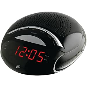 gpx c222b dual alarm clock radio. Black Bedroom Furniture Sets. Home Design Ideas