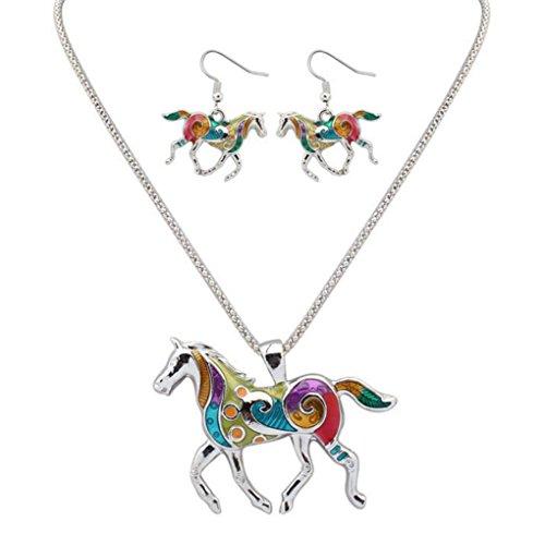 gudeke-pendientes-para-mujer-del-caballo-retro-bohemio-goteo-del-arco-iris-del-collar-colgante-50cm-