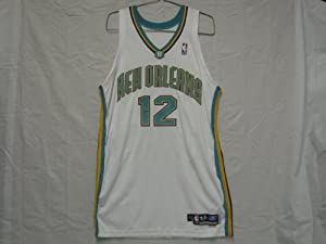 #12 Kenny Anderson Game Worn 2002-03 New Orleans Hornets Jersey by Reebok