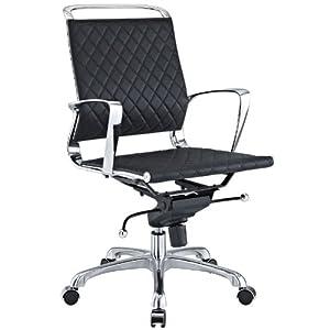 Brilliant Look Check Price Charles Eames Vibe Modern Mid Back Black Inzonedesignstudio Interior Chair Design Inzonedesignstudiocom
