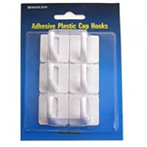MINTCRAFT PH-122299 Adhesive Plastic Cup Hook