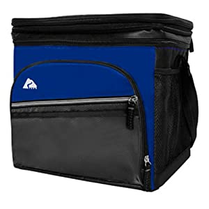 24 Can Cooler with Removable Hardliner- Blue by Ozark Trail