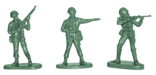 Mini Green Toy Soldiers U.S. Army Men Play War Kids Toys Boys front-453969
