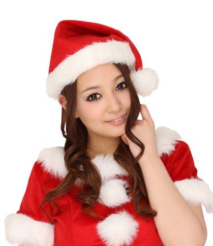 サンタ帽子 赤