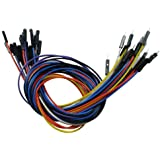 30pcs 1pin Male to Female Jumper Wire Cables for Shield or EQUIV(Color is random)
