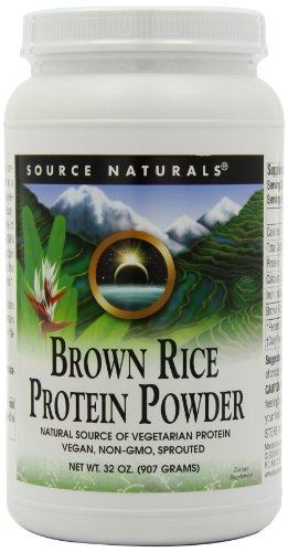 Source Naturals Brown Rice Protein Powder, 2 Pound