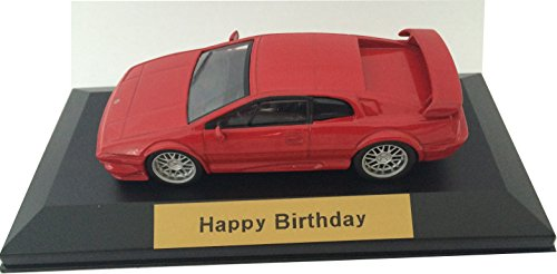 Happy Birthday - Lotus Esprit V8 in red 1:43 scale