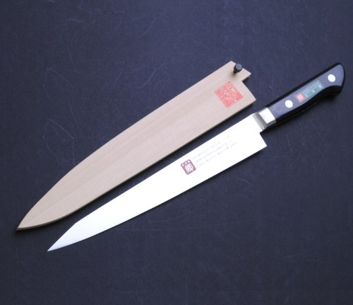 Yoshihiro 270Mm Inox Sujihiki Japanese Chef Knife, 10.6-Inch