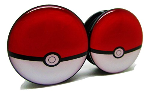 Pokemon Pokeball Ear Plugs