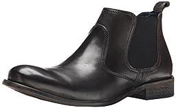Steve Madden Men\'s Banford Boot, Black, 11.5 M US