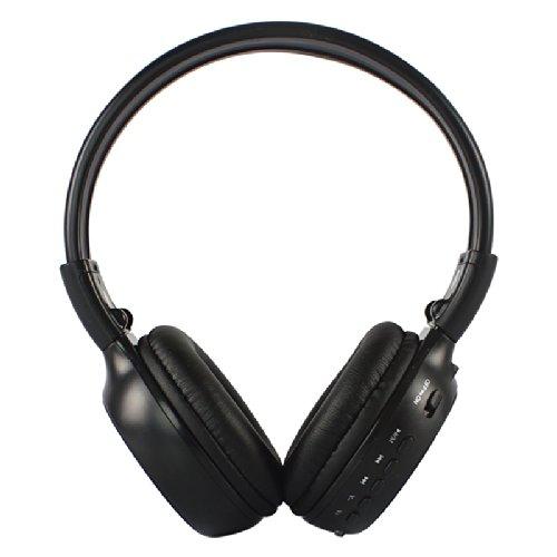 Neelam B570 Bluetooth Headphone With Lcd Screen - Micro Sd Tf Card Mp3 Player - Fm Radio - Microphone For Hands Free Calls - Wireless Stereo Headphone Black