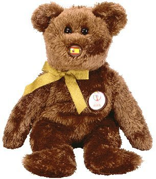 TY Beanie Baby - CHAMPION the FIFA Bear ( Spain ) - 1