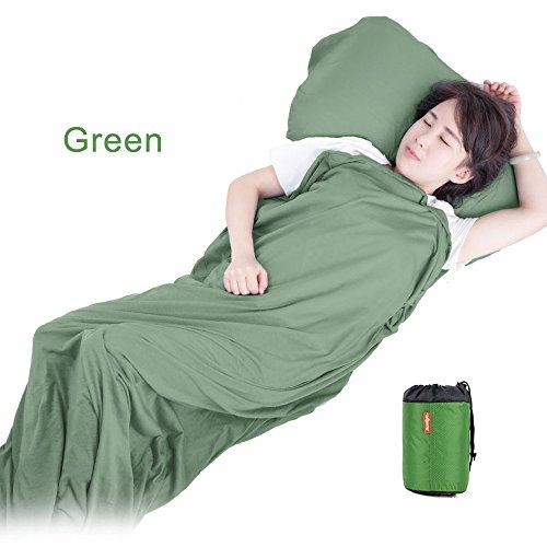 ultraleichte outdoor schlafsack sack liner tragbare falten umschlag decke inner reise camping. Black Bedroom Furniture Sets. Home Design Ideas