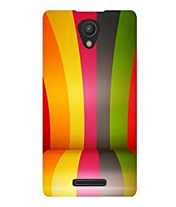 printtech Colored Line Pattern Back Case Cover for Xiaomi Redmi 3S::Xiaomi Redmi 3::Xiaomi Redmi 3 (3rd Gen)