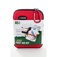 Lifeline 85 Piece First Aid Kit (Red)