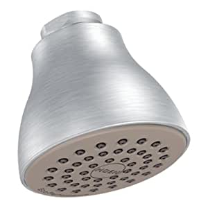 Moen 6300EPBC One-Function Eco-Performance Shower Head, Brushed Chrome
