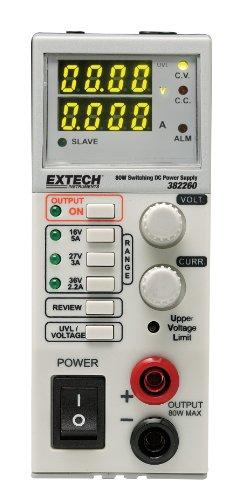Extech 382260 80 Watt Switching Mode Dc Power Supply