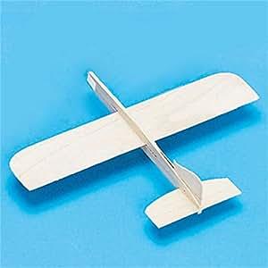 Balsa Wood Top Gun Glider Model Plane Pack Of