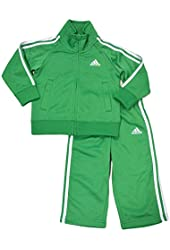 Adidas Baby And  Boys Iconic Tricot Set