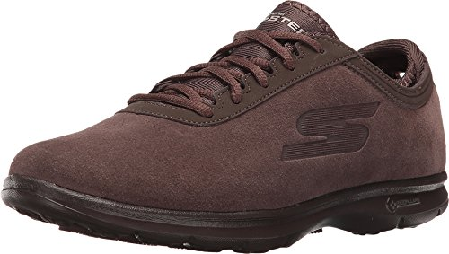 Skechers Performance Women's Go Step-Inception Walking Shoe, Chocolate, 7.5 M US (Women Shoes Brown compare prices)