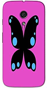 Timpax protective Armor Hard Bumper Back Case Cover. Multicolor printed on 3 Dimensional case with latest & finest graphic design art. Compatible with Motorola Moto -G-2 (2nd Gen )Design No : TDZ-26342