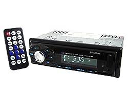 SoundBoss Bluetooth Wireless With Phone Caller Id Receiver Car Media Player(Single Din)