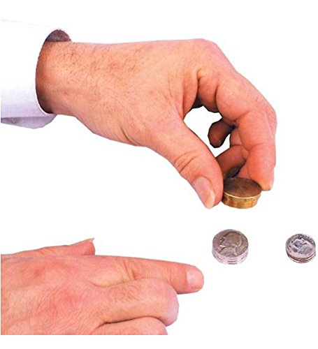 Nickels to Dimes Coin Magic Trick