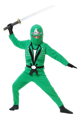 Child Ninja Avenger Costume Jade 84399