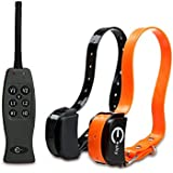 Esky EP-R200-B2 Remote Control Pet Dog Training Collar Static Shock and Vibration (with Individual Correction for Each Dog)-Two Collars