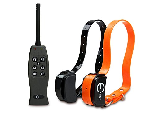 [New Arrival] Esky® Ep-R200-B2 Remote Control Pet Dog Training Collar Static Shock And Vibration (With Individual Correction For Each Dog)