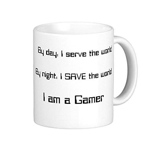 By Night I Save The World - Gamer Coffee Mug