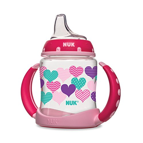 NUK Fashion Hearts Learner Cup, 5-Ounce (Sippy Cups compare prices)