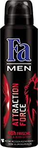 Fa Men Deospray Attraction Force 48h, 6er Pack (6 x 150 ml)