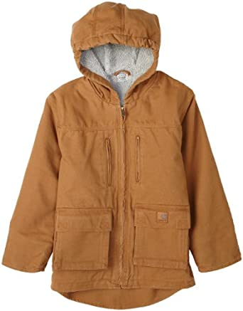 Carhartt  Boys 2-7 Jackson Kids Jacket,Carhartt Brown,4